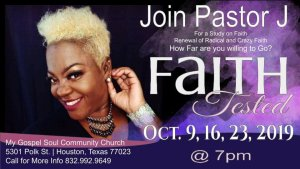 Faith: How far are you willing to go! My Gospel Soul Radio with Pastor J 10/07 by Jennice Jackson | Christianity