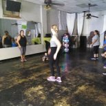 Zumba with the Ladies