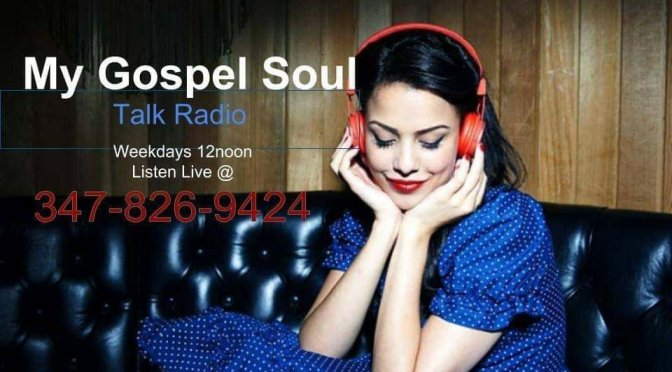 My Gospel Soul Radio Let It Play Monday