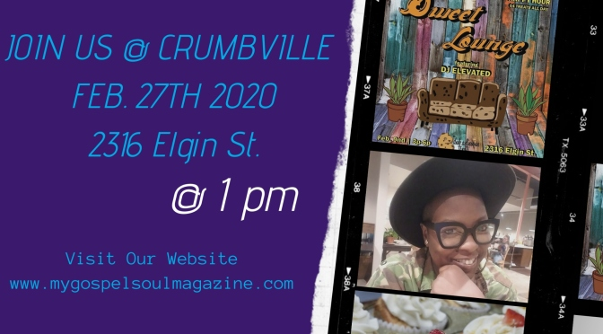 My Gospel Soul on the Move to Crumbville,TX