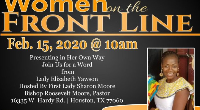 New Covenant Church: Women on the Frontline