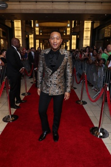 Mandatory Credit: Photo by John Photography/REX/Shutterstock (10182739cm) John Legend 50th Annual NAACP Image Awards, Roaming Arrivals, Dolby Theatre, Los Angeles, USA - 30 Mar 2019