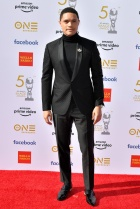 Mandatory Credit: Photo by Rob Latour/REX/Shutterstock (10181038ae) Trevor Noah 50th Annual NAACP Image Awards, Arrivals, Dolby Theatre, Los Angeles, USA - 30 Mar 2019