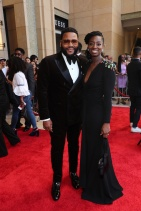 Mandatory Credit: Photo by John Photography/REX/Shutterstock (10182739cf) Anthony Anderson and Alvina Stewart 50th Annual NAACP Image Awards, Roaming Arrivals, Dolby Theatre, Los Angeles, USA - 30 Mar 2019
