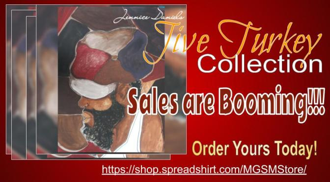 Jive Turkey Collection by Artist Jennice Daniels