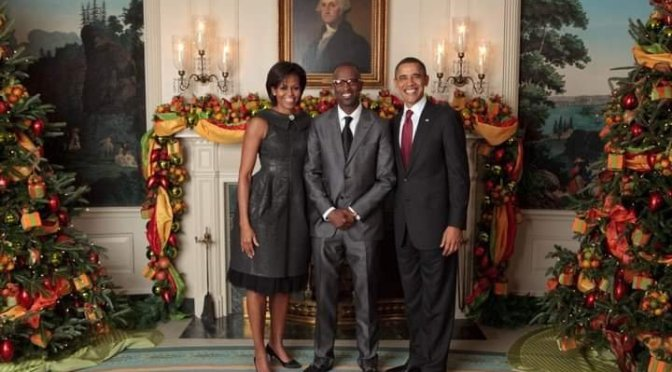 Rickey Smiley and The Obama's