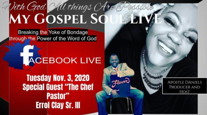"""Tuesday On My Gospel SOul Live """"Election Day"""""""